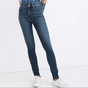 """Madewell 10"""" High-Rise Skinny Crop Jeans: Cordell"""
